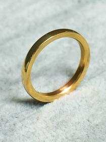 31_Złota obrączka pierścionek